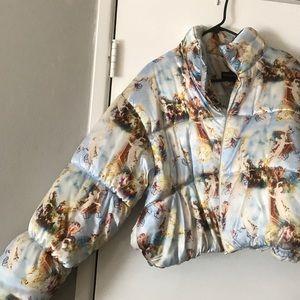 ✨Pretty Little Thing Cherub puffer jacket M